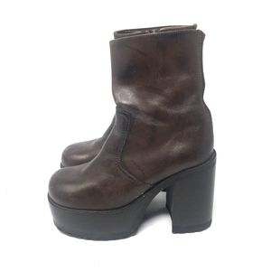 Steve Madden Leather Boots 7.5
